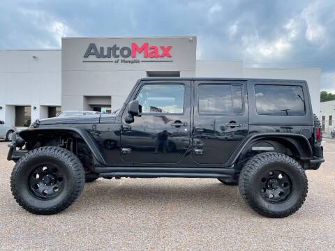 2011 Jeep Wrangler Unlimited for sale at AutoMax of Memphis - V Brothers in Memphis TN