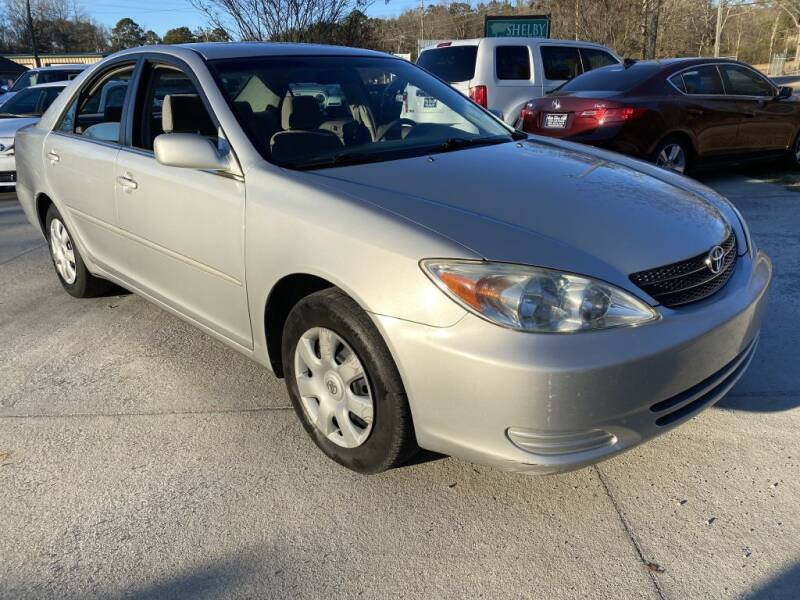 2002 Toyota Camry for sale at Auto Class in Alabaster AL