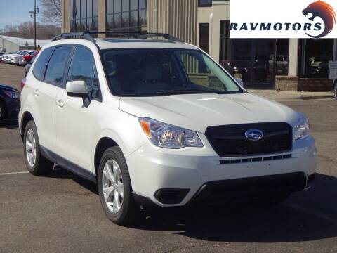 2015 Subaru Forester for sale at RAVMOTORS 2 in Crystal MN