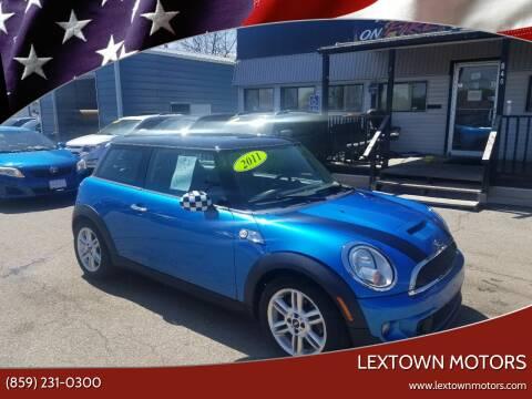 2011 MINI Cooper for sale at LexTown Motors in Lexington KY