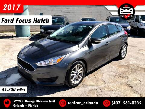 2017 Ford Focus for sale at Real Car Sales in Orlando FL