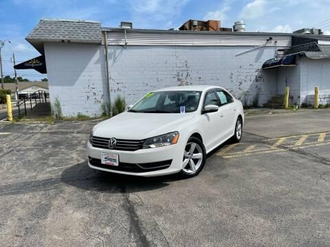 2013 Volkswagen Passat for sale at Santa Motors Inc in Rochester NY