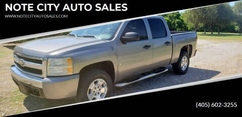 2008 Chevrolet Silverado 1500 for sale at NOTE CITY AUTO SALES in Oklahoma City OK