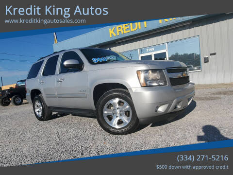 2010 Chevrolet Tahoe for sale at Kredit King Autos in Montgomery AL