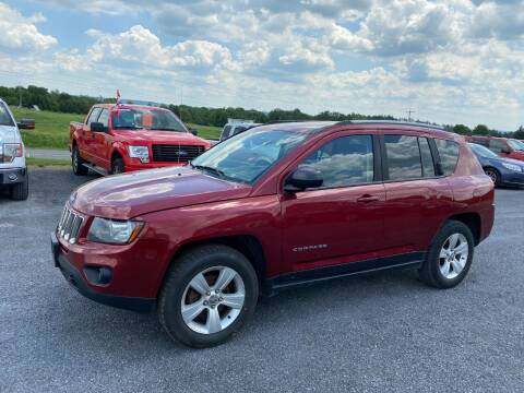 2015 Jeep Compass for sale at Riverside Motors in Glenfield NY