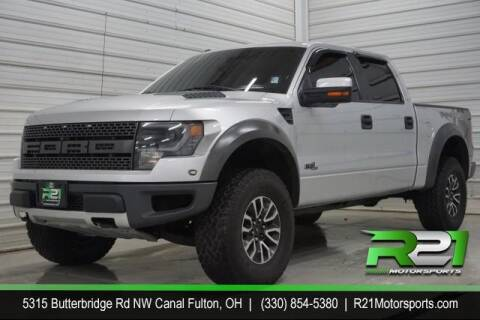 2013 Ford F-150 for sale at Route 21 Auto Sales in Canal Fulton OH