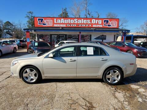 2009 Chevrolet Malibu for sale at LA Auto Sales in Monroe LA