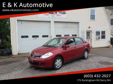 2011 Nissan Versa for sale at E & K Automotive in Derry NH