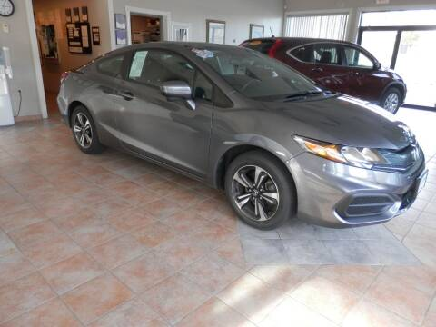2014 Honda Civic for sale at ABSOLUTE AUTO CENTER in Berlin CT