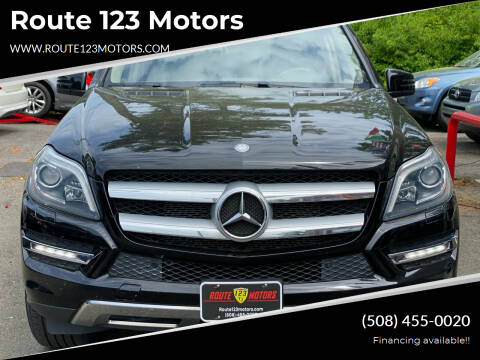 2013 Mercedes-Benz GL-Class for sale at Route 123 Motors in Norton MA