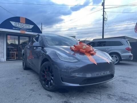 2021 Tesla Model Y for sale at OTOCITY in Totowa NJ
