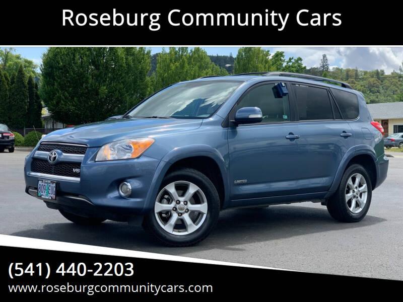 2010 Toyota RAV4 for sale at Roseburg Community Cars in Roseburg OR