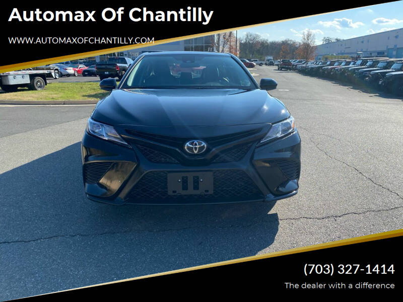 2020 Toyota Camry for sale at Automax of Chantilly in Chantilly VA
