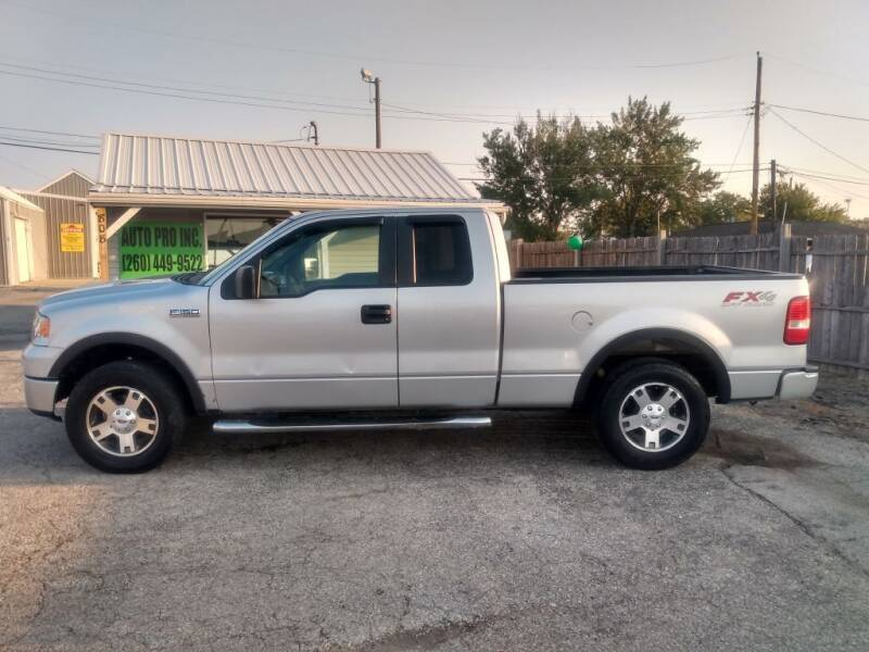 2008 Ford F-150 for sale at Auto Pro Inc in Fort Wayne IN