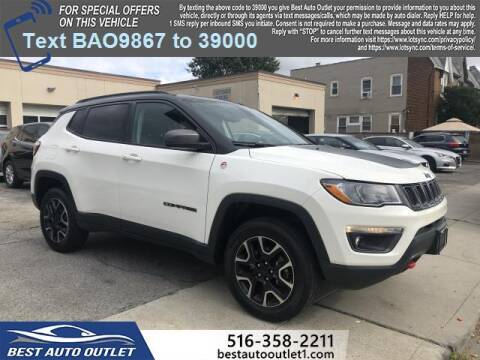 2019 Jeep Compass for sale at Best Auto Outlet in Floral Park NY