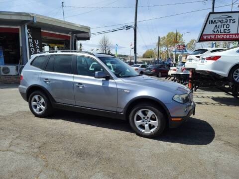 2007 BMW X3 for sale at Imports Auto Sales & Service in San Leandro CA
