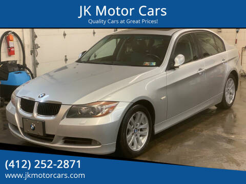 2007 BMW 3 Series for sale at JK Motor Cars in Pittsburgh PA