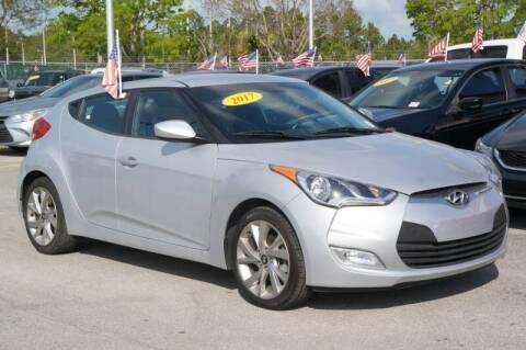 2017 Hyundai Veloster for sale at Car Depot in Miramar FL