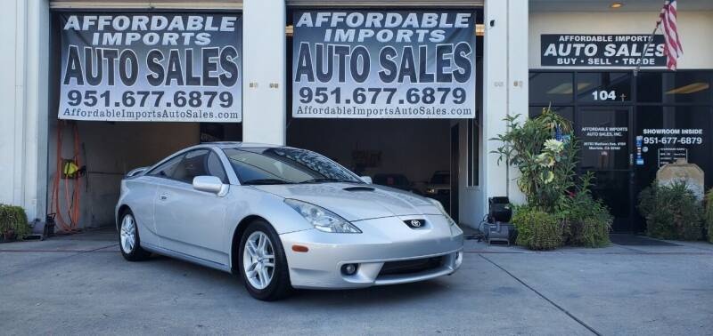 2001 Toyota Celica for sale at Affordable Imports Auto Sales in Murrieta CA
