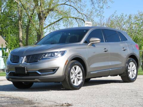 2017 Lincoln MKX for sale at Tonys Pre Owned Auto Sales in Kokomo IN