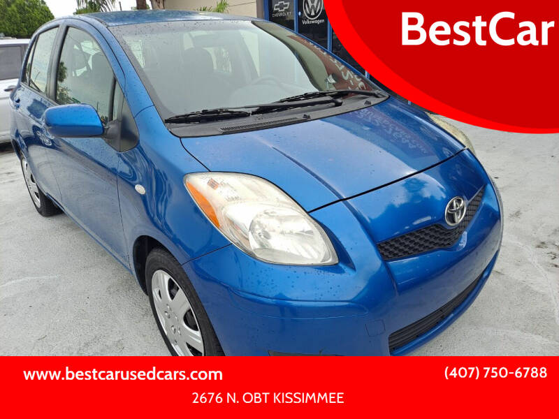 2010 Toyota Yaris for sale at BestCar in Kissimmee FL