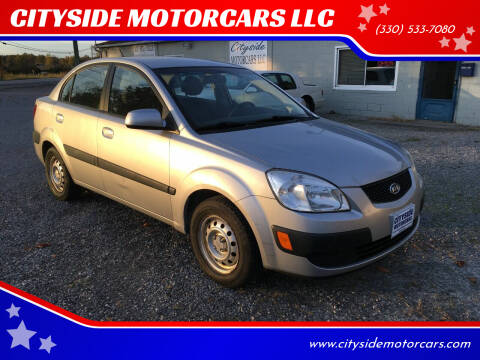 2006 Kia Rio for sale at CITYSIDE MOTORCARS LLC in Canfield OH