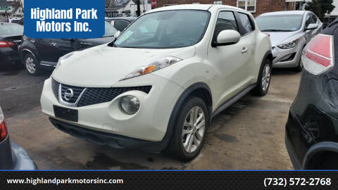 2011 Nissan JUKE for sale at Highland Park Motors Inc. in Highland Park NJ