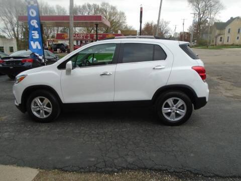2018 Chevrolet Trax for sale at Nelson Auto Sales in Toulon IL