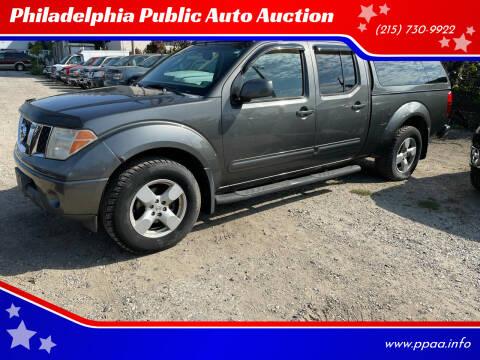 2007 Nissan Frontier for sale at Philadelphia Public Auto Auction in Philadelphia PA