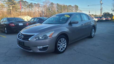 2015 Nissan Altima for sale at DADA AUTO INC in Monroe NC