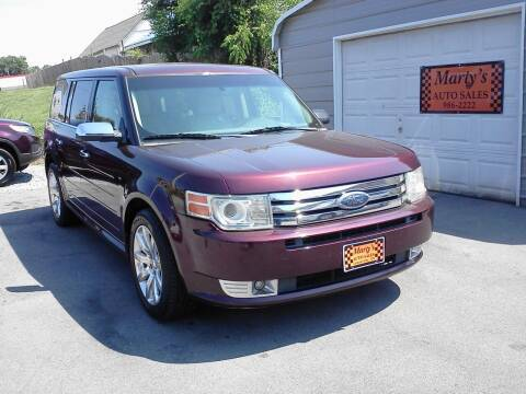 2009 Ford Flex for sale at Marty's Auto Sales in Lenoir City TN