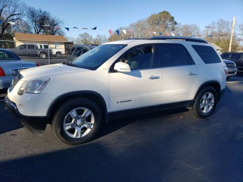 2008 GMC Acadia for sale at A-1 Auto Sales in Anderson SC