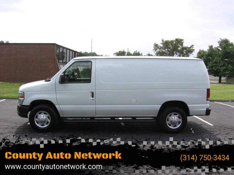 2013 Ford E-Series Cargo for sale at County Auto Network in Ballwin MO
