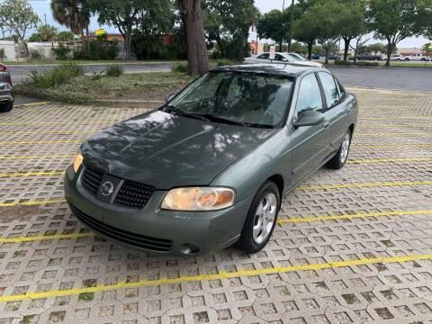2005 Nissan Sentra for sale at Florida Prestige Collection in Saint Petersburg FL