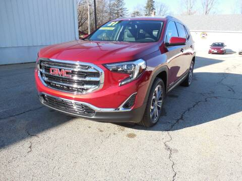2021 GMC Terrain for sale at Streich Motors Inc in Fox Lake WI