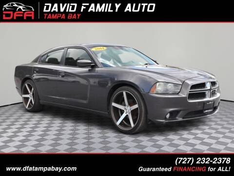 2014 Dodge Charger for sale at David Family Auto in New Port Richey FL