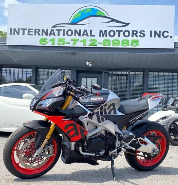 2019 Aprilia tuono for sale at International Motors Inc. in Nashville TN