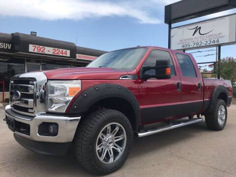 2016 Ford F-250 Super Duty for sale at NORRIS AUTO SALES in Oklahoma City OK