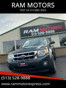 2008 Ford Escape for sale at RAM MOTORS in Cincinnati OH