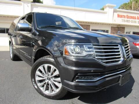 2015 Lincoln Navigator L for sale at North Georgia Auto Brokers in Snellville GA