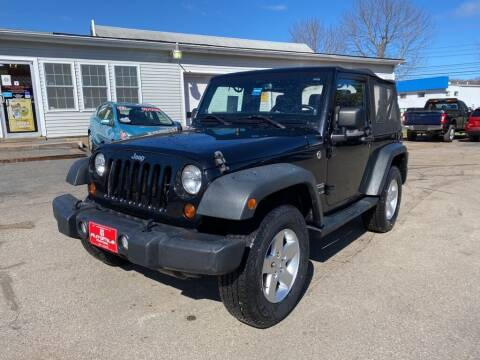 2013 Jeep Wrangler for sale at AutoMile Motors in Saco ME