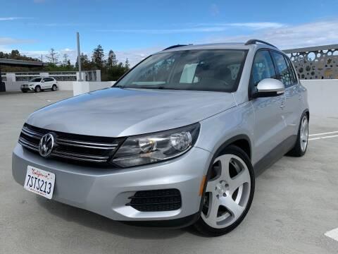 2016 Volkswagen Tiguan for sale at Dino Motors in San Jose CA