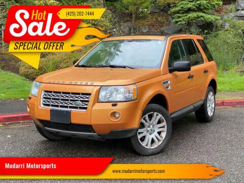 2008 Land Rover LR2 for sale at Mudarri Motorsports in Kirkland WA