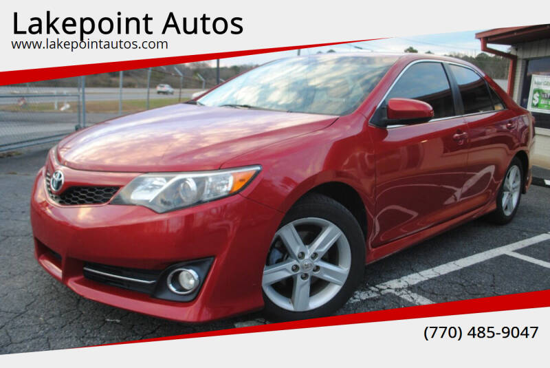 2014 Toyota Camry for sale at Lakepoint Autos in Cartersville GA