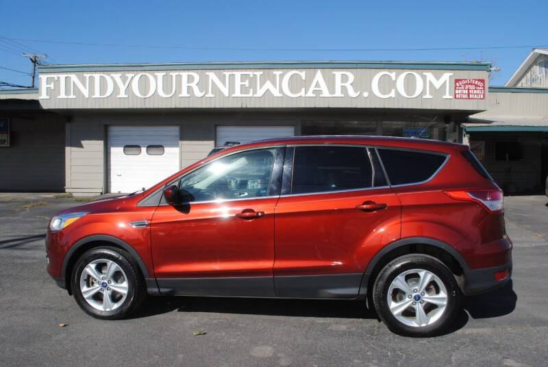 2014 Ford Escape for sale at Susquehanna Auto in Oneonta NY