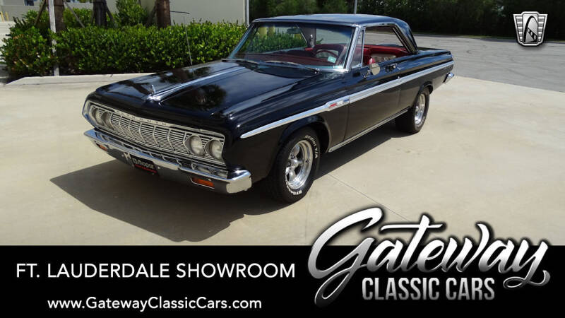 1964 Plymouth Sport Fury for sale in Coral Springs, FL