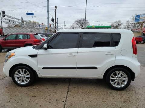 2012 Kia Soul for sale at Bob Boruff Auto Sales in Kokomo IN