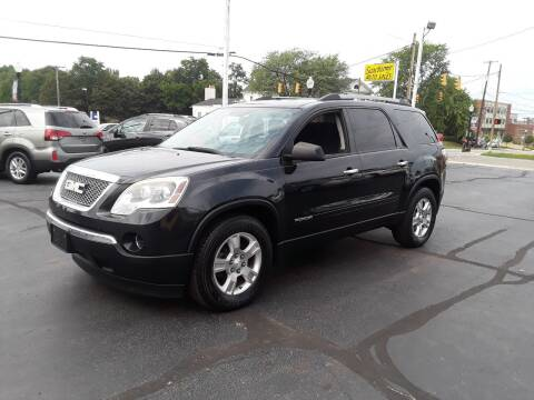 2011 GMC Acadia for sale at Sarchione INC in Alliance OH