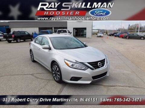 2017 Nissan Altima for sale at Ray Skillman Hoosier Ford in Martinsville IN