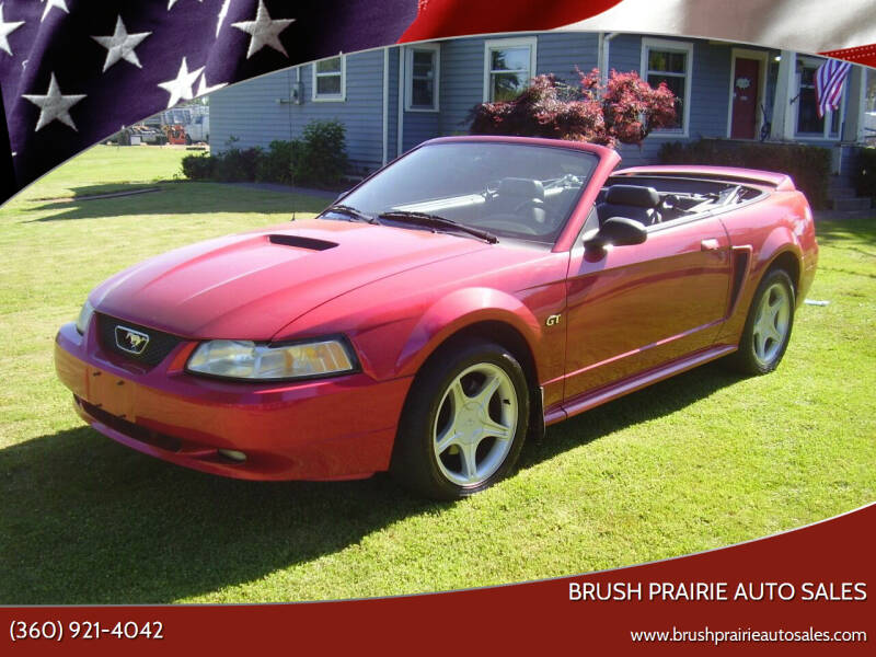 2000 Ford Mustang for sale at Brush Prairie Auto Sales in Battle Ground WA